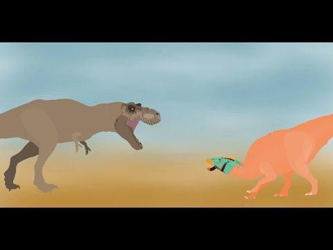 Tyrannosaurus Rex Life (pivot Animation)
