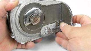 Rare Antique Vintage 16mm Revere Magazine Movie Camera