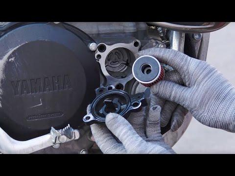Замена Масла Yamaha WR450F