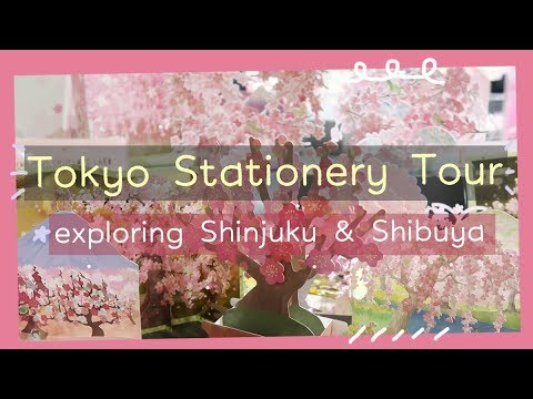 Stationery Tour in Tokyo + Hobonichi Techo With Me | Rainbowholic 🌈