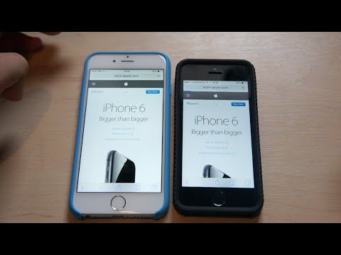 iPhone 6 vs iPhone 5S I Speed Test! I Apple I Review