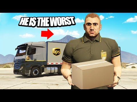 The Worst Delivery Man In GTA RP! (GTA RP)