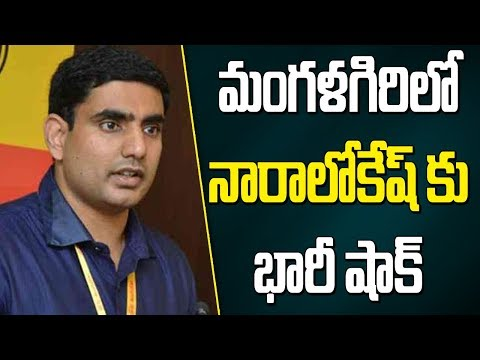 Reporter's Live : Live Updates From Guntur ll Nara Lokesh Trails From Mangalagiri Assembly Seat