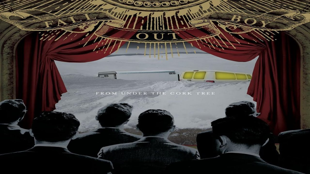 Fall Out Boy Album Wallpaper Top 7 Best Songs From Album From Under The Cork Tree