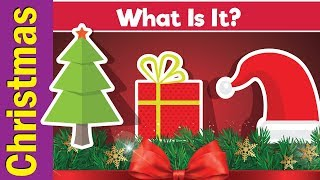 Learn Christmas Vocabulary | What Is It? | English Pattern Practice for ESL | Fun Kids English