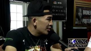 Leo Santa Cruz on fan criticism, Rigondeaux & feels Abner Mares fight ends in KO