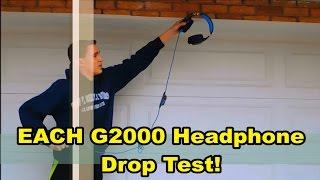 EACH G2000 Durability/Drop Test! | Strong Headphones!