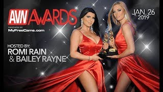 2019 AVN Awards Preview (hosted by Romi Rain and Bailey Rayne)