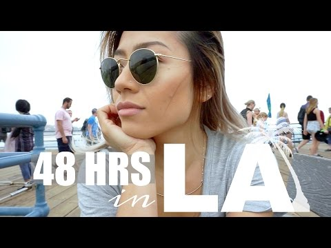 A NEW YORKER IN LOS ANGELES | My first time in California! - Travel Vlog