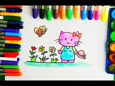 Hello Kitty Butterfly Coloring Pages : Dreamworks trolls coloring poster markers joann printable coloring