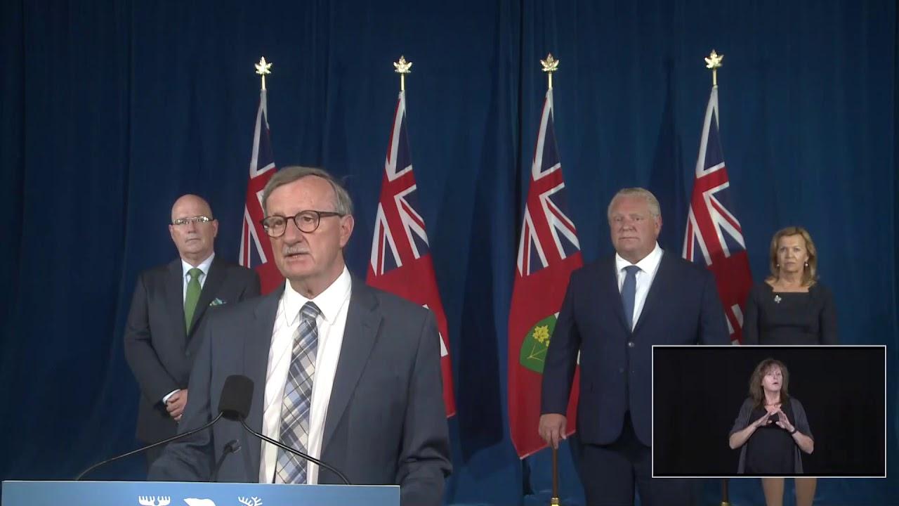 Ontario Premier Doug Ford Provides COVID-19 Update | September 17