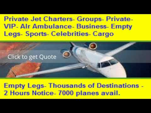 Private Jet Charter Empty Legs