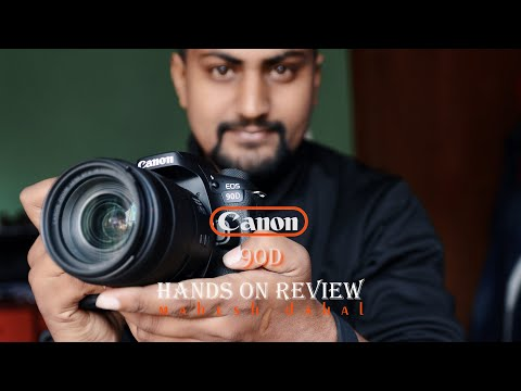 Canon 90D hands on review