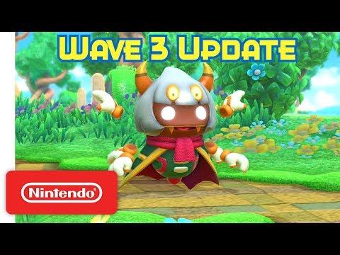 Kirby Star Allies: Wave 3 Update - Taranza weaves a web! - Nintendo Switch