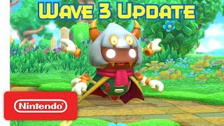 Kirby Star Allies: Wave 3 Update - Taranza weaves a web! - Nintendo Switch