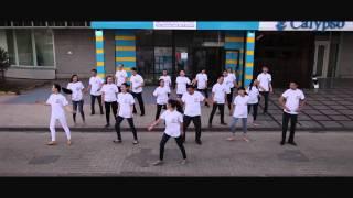 флешмоб ко дню рождения Жилстройсбербанк Казахстана г. Астана
