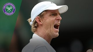 Kevin Anderson wins tight clash with Gael Monfils | Wimbledon 2018