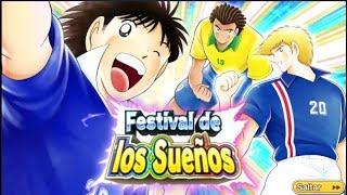 EL FESTIVAL DE LOS SUEÑOS!!!! - CAPTAIN TSUBASA DREAM TEAM