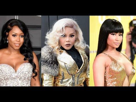 Lil Kim Shows Love To Beyonce, Rihanna, Remy Ma & Azealia Banks.Says She Cant Forgive Nicki Minaj