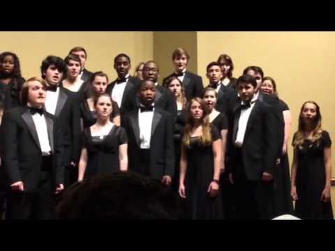 Faulkner University Chorus 041415