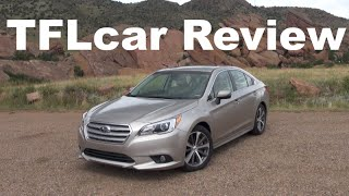 2015 Subaru Legacy Review: An AWD Boxer Sedan for the Family
