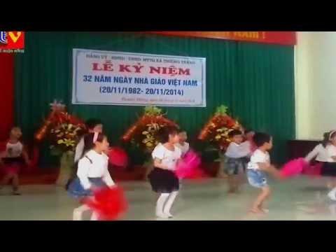 Múa tập tầm vông (Các bé của trường Mầm non Thường Thắng)