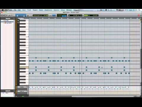 Making a beat in Pro Tools - Start to Finish