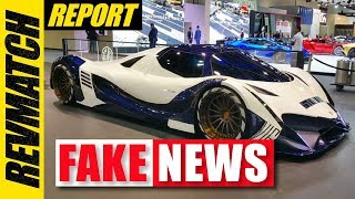 "World's ""Most Powerful"" Supercar Is Fake"
