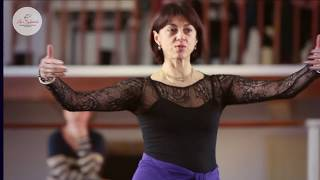 Nina Ananiashvili - La Sylphide Ballet School workshop 21.12.2015