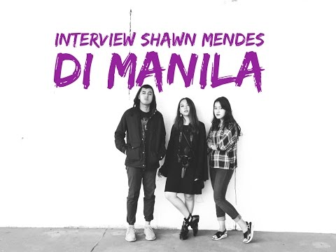 INTERVIEW SHAWN MENDES DI MANILA #KemVlog