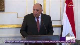 الأخبار - وزير الخارجية يبحث مع نظيره الإثيوبي ملف مياه النيل