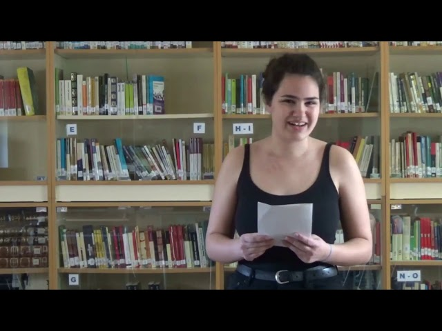 1r Concurs Lectures Dramatitzades de l'IES VAE