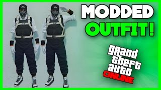 GTA 5 Online - How To Create a Dope Modded Outfit using Clothing Glitches! 1.36 #166