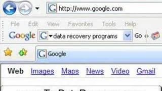 Data Recovery Programs for Windows XP and Vista
