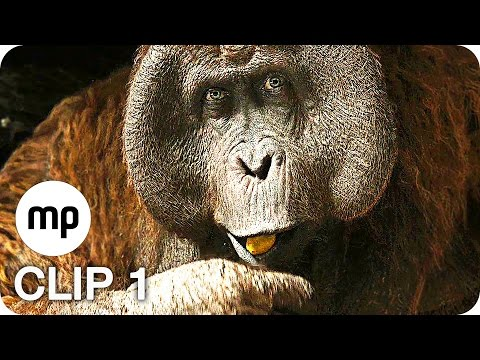 DISNEY'S THE JUNGLE BOOK Film Clip 1: King Louie (2016) Exklusiv