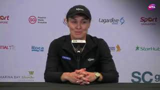 Press Conference After Martina Hingis Announces Her Retirement