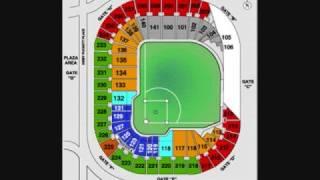 MLB stadium seating charts