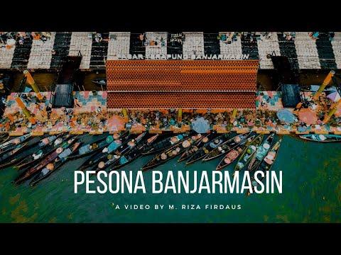 Pesona Kota Seribu Sungai Banjarmasin Kalimantan Selatan
