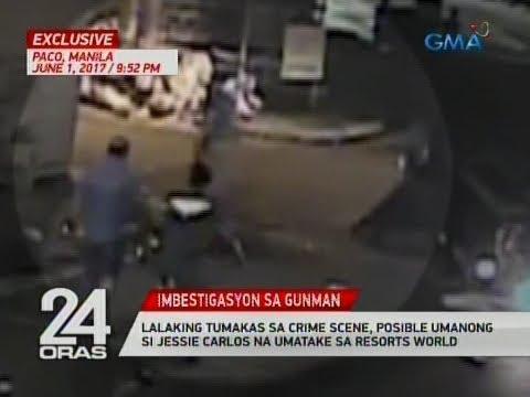 24 Oras Exclusive: Lalaking tumakas sa crime scene, posibleng si Jessie Carlos na umatake sa RWM