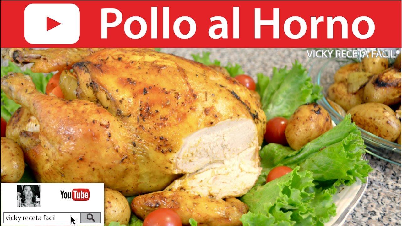 C mo hacer pollo al horno vicky receta facil doovi - Como cocinar pollo al horno ...