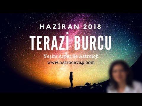 TERAZİ Burcu Haziran 2018 Astroloji