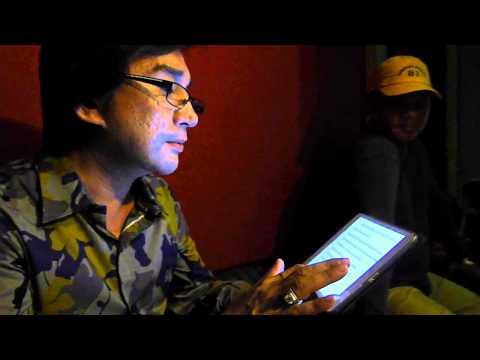 NSUT Kim Tu Long trong phong thu