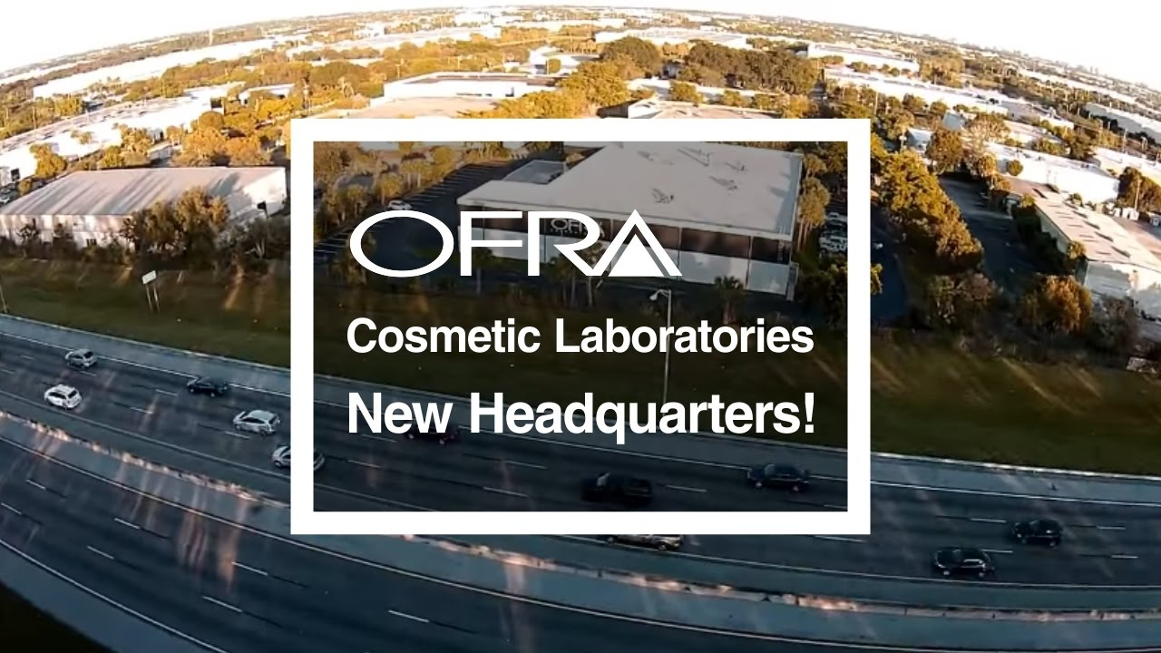 OFRA Cosmetic Laboratories New Headquarters!