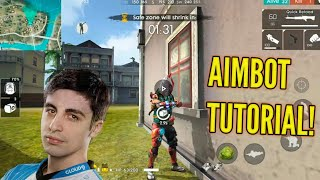 HOW TO GET PERFECT AIM IN GARENA FREE FIRE!
