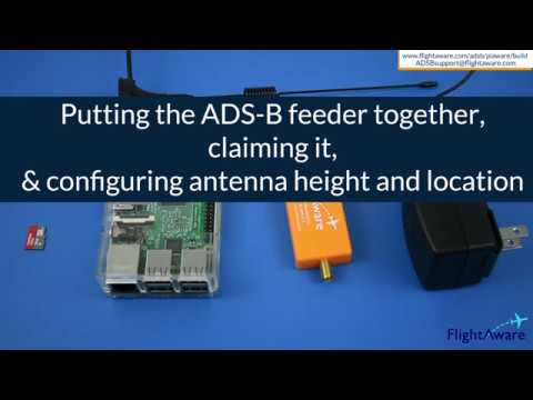 PiAware - build your own ADS-B ground station for integration with