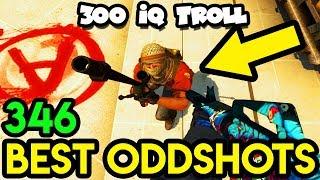 BEST SNEAKY TROLL EVER ! - CS:GO BEST ODDSHOTS #346