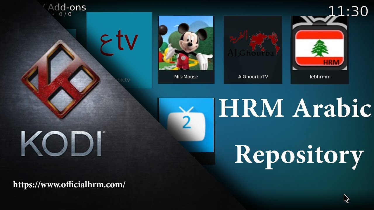 HRMTV IPTV FOR XBMC ARABIC LIVE TV ADDON CHANNELS LIVE FOR FREE  -  Officialhrm com