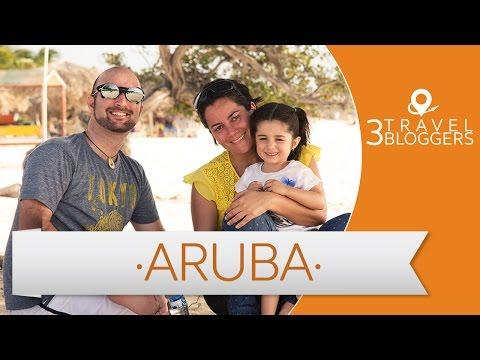 Viaje Familiar a Aruba - 3 Travel Bloggers (Daniel Tirado, JL Pastor y Marcela Mariscal)