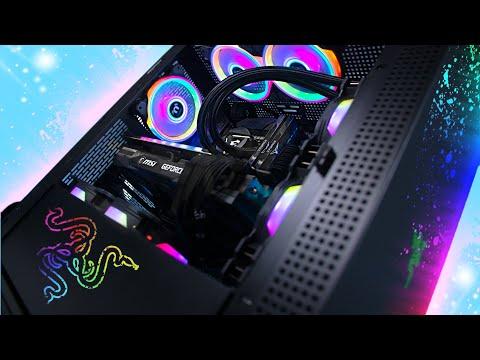ULTIMATE Razer RTX 3080 RGB Gaming PC Build! w/ Benchmarks