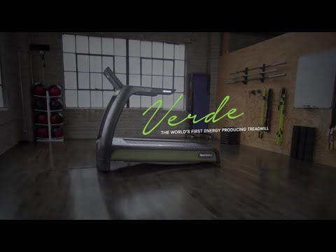 SportsArt's Verde Treadmill - The World's First Energy Producing Treadmill